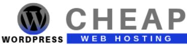 Cheap WordPress Web Hosting