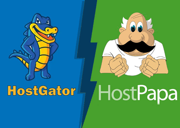Hostgator VS Hostpapa WordPress Hosting