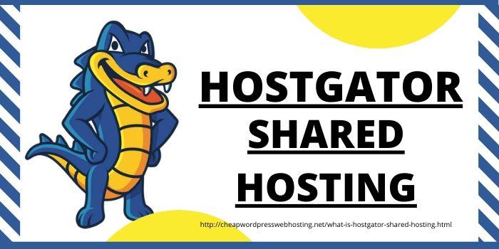 What is Hostgator Shared Hosting?
