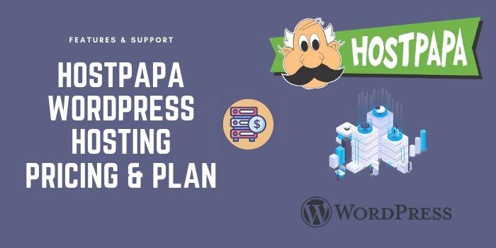 HostPapa WordPress hosting Pricing & Plan