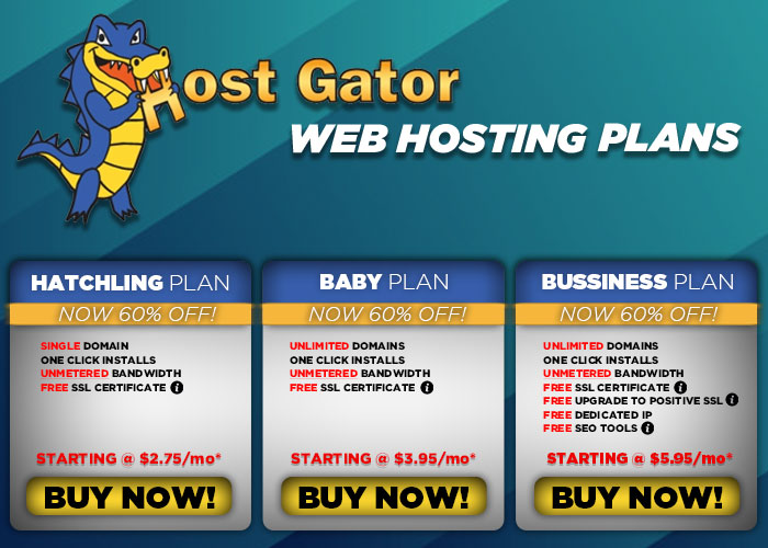 Hostgator Web Hosting Plans