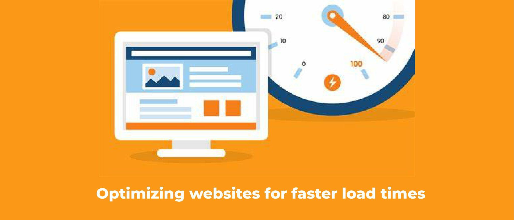 Optimizing websites for faster load times
